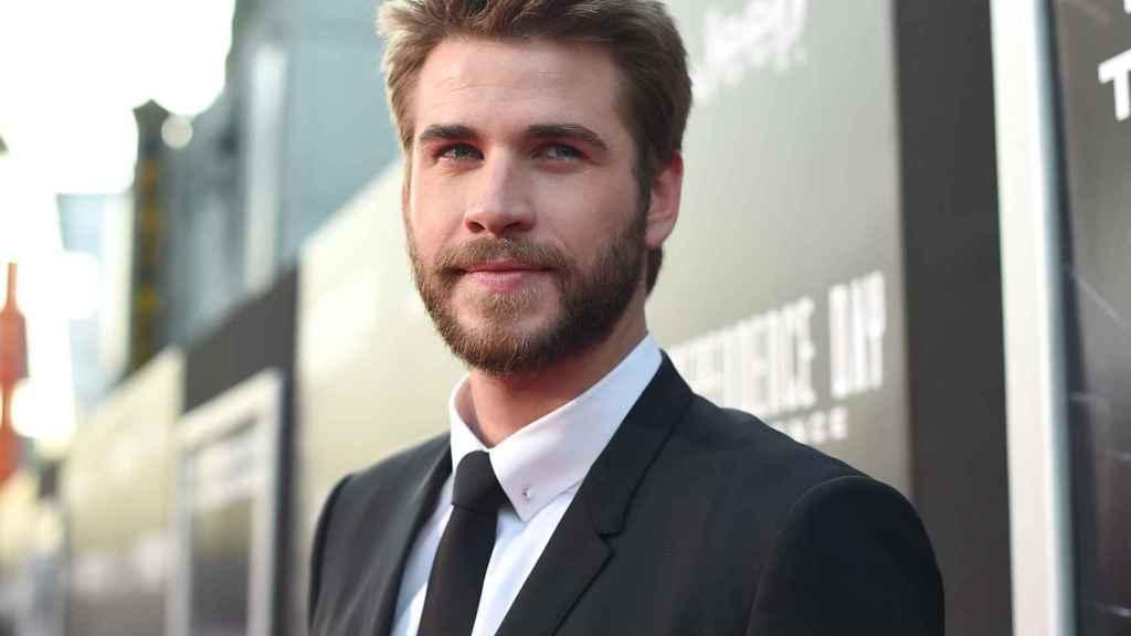 El actor Liam Hemsworth.