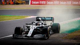 Lewis Hamilton, en el GP de Japón