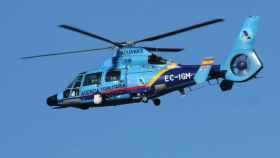Helicóptero AS-365 Dauphin de la Agencia Tributaria.