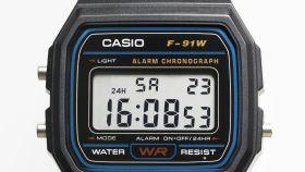 Un reloj de Casio.