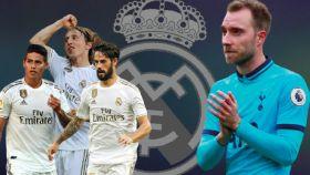 Eriksen y el centro del campo del Madrid