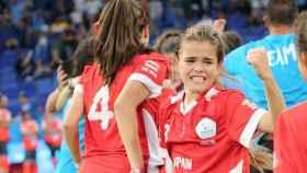 Las chicas del RCD Espanyol se llevan el título