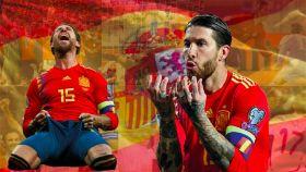 Sergio Ramos, el hombre récord de la Selección
