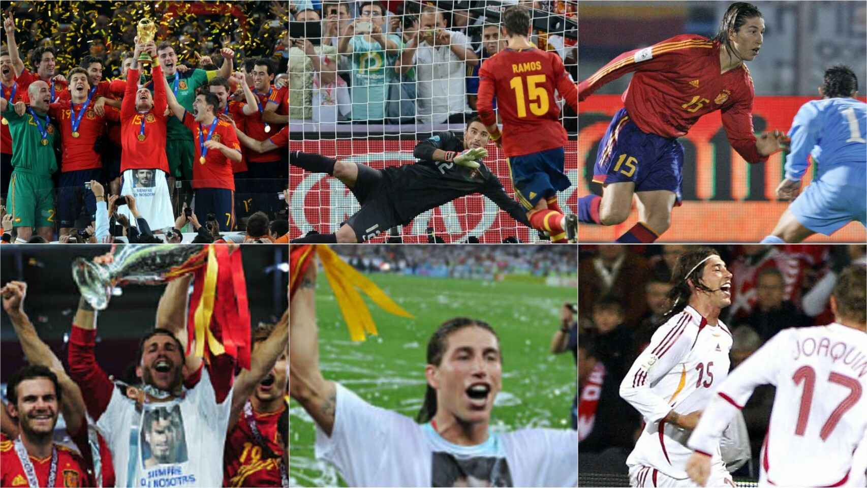 Los mejores momentos de Sergio Ramos con la Selección