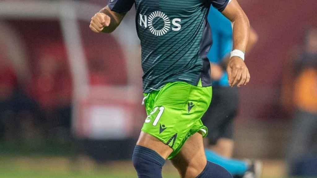 Jesé Rodríguez, con el Sporting CP