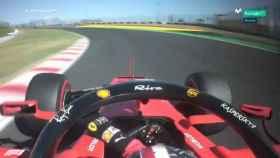 La maniobra de Leclerc en el GP de Japón