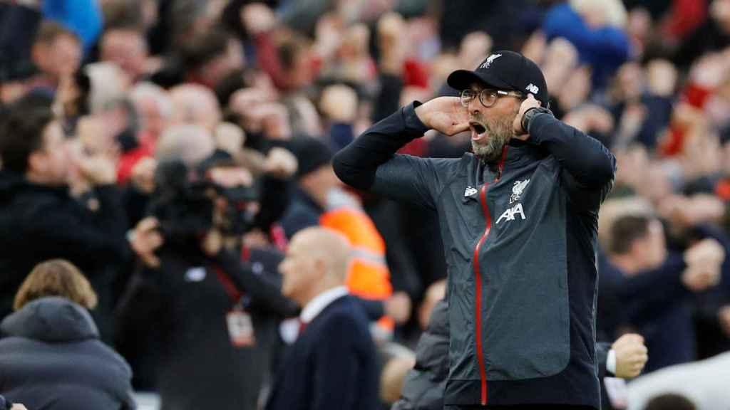 Jurgen Klopp, durante un partido con el Liverpool