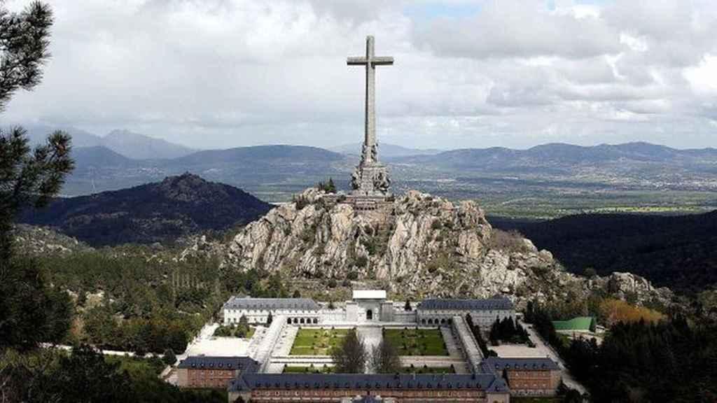 Imagen del Valle de los Caídos, donde se producirá la exhumación de Franco