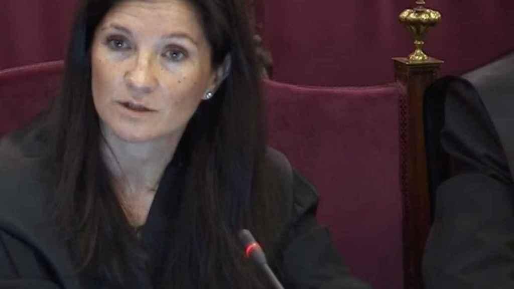 Rosa Seoane, abogada del Estado, durante el juicio./