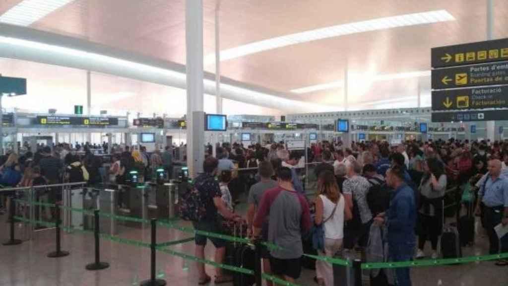 Imagen del aeropuerto de El Prat