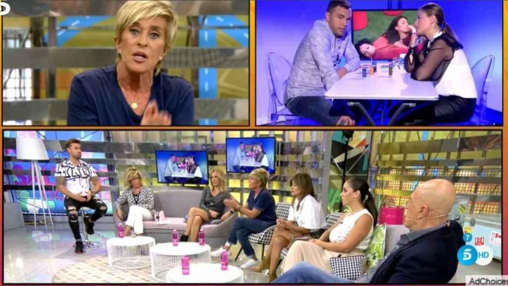 Rafa Mora, como presentador de 'Sálvame Limón'.