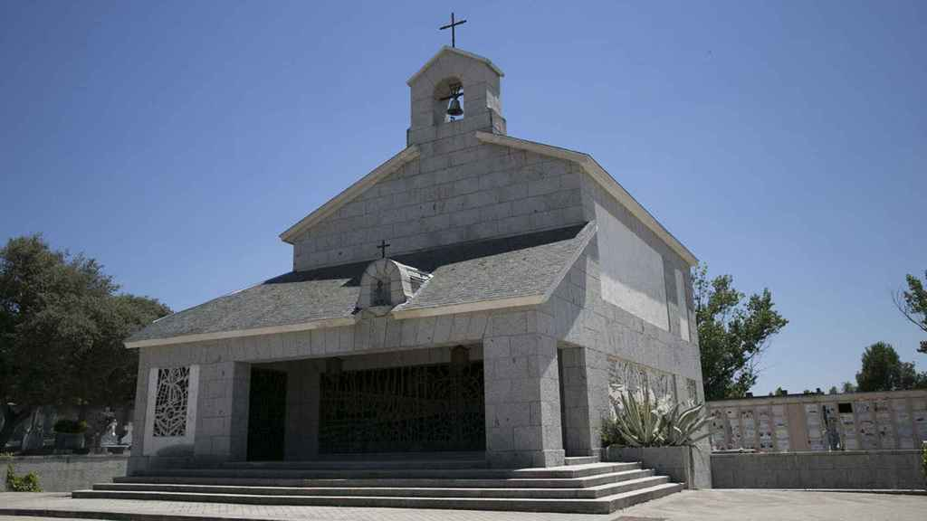 En esta capilla se encuentra la cripta en la que recalará Franco.