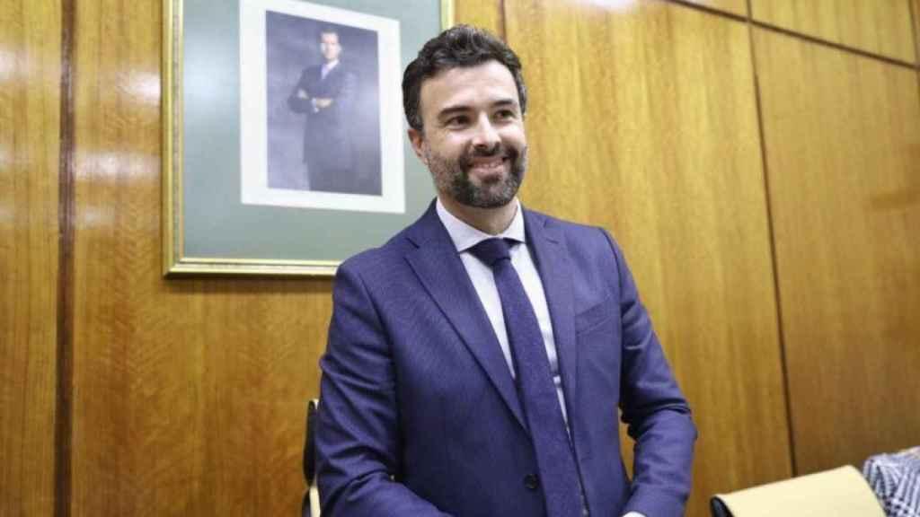 Pablo Cambronero en una imagen de archivo.