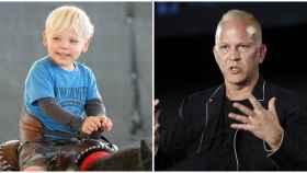 Ryan Murphy y su hijo Ford en un combo JALEOS.
