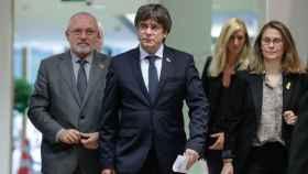 Puigdemont comparece en Bruselas tras la sentencia del 1-O.