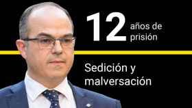 Jordi Turull, condenado a 12 años de prisión por sedición y malversación