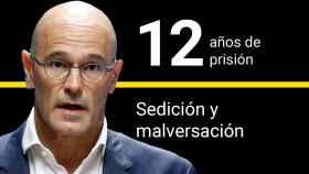 Raül Romeva, condenado a 12 años de cárcel por sedición y malversación