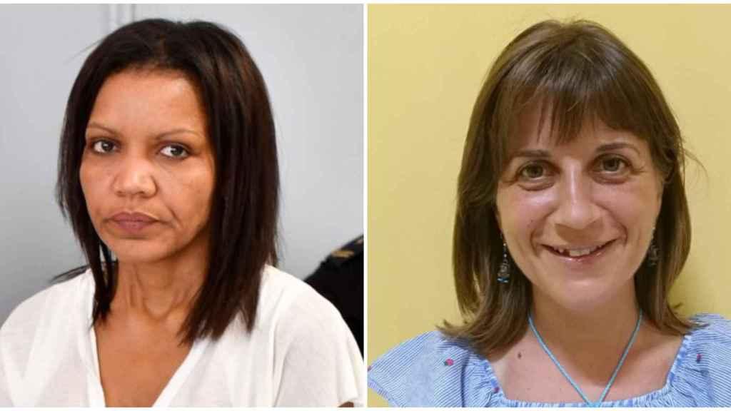 Ana Julia Quezada, a la derecha, y Ana María Baños, situada a la derecha.