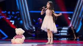 Así fue el regreso de Melani García a 'La Voz Kids' antes de ir a Eurovisión Junior