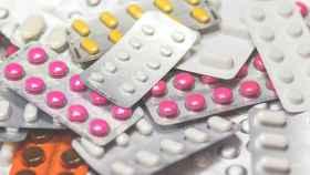 Una imagen de archivo de diferentes medicamentos.