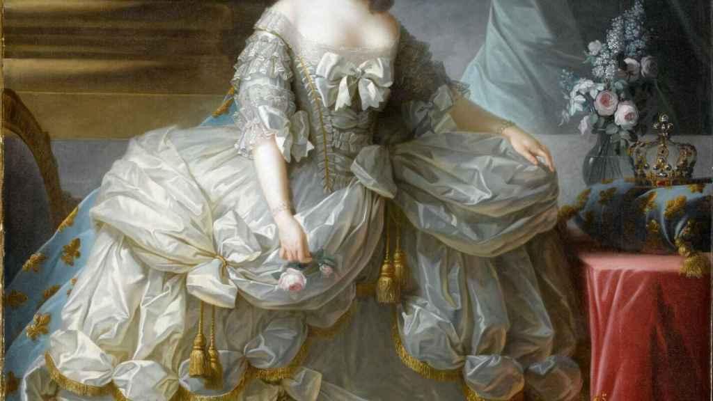 Retrato de María Antonieta a cargo de Elisabeth Louise Vigée Le Brun.