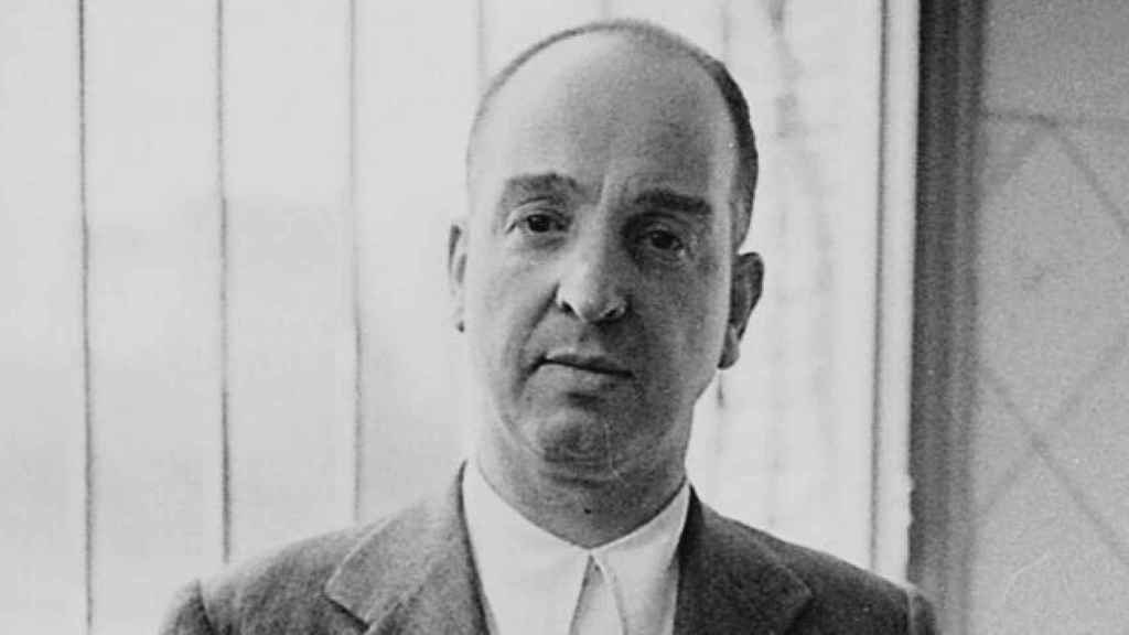 El anarquista Melchor Rodríguez, más conocido como El ángel rojo.