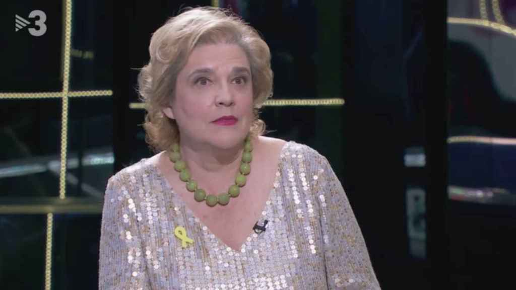 La periodista Pilar Rahola en TV3