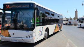 Imagen de archivo de un autobús.