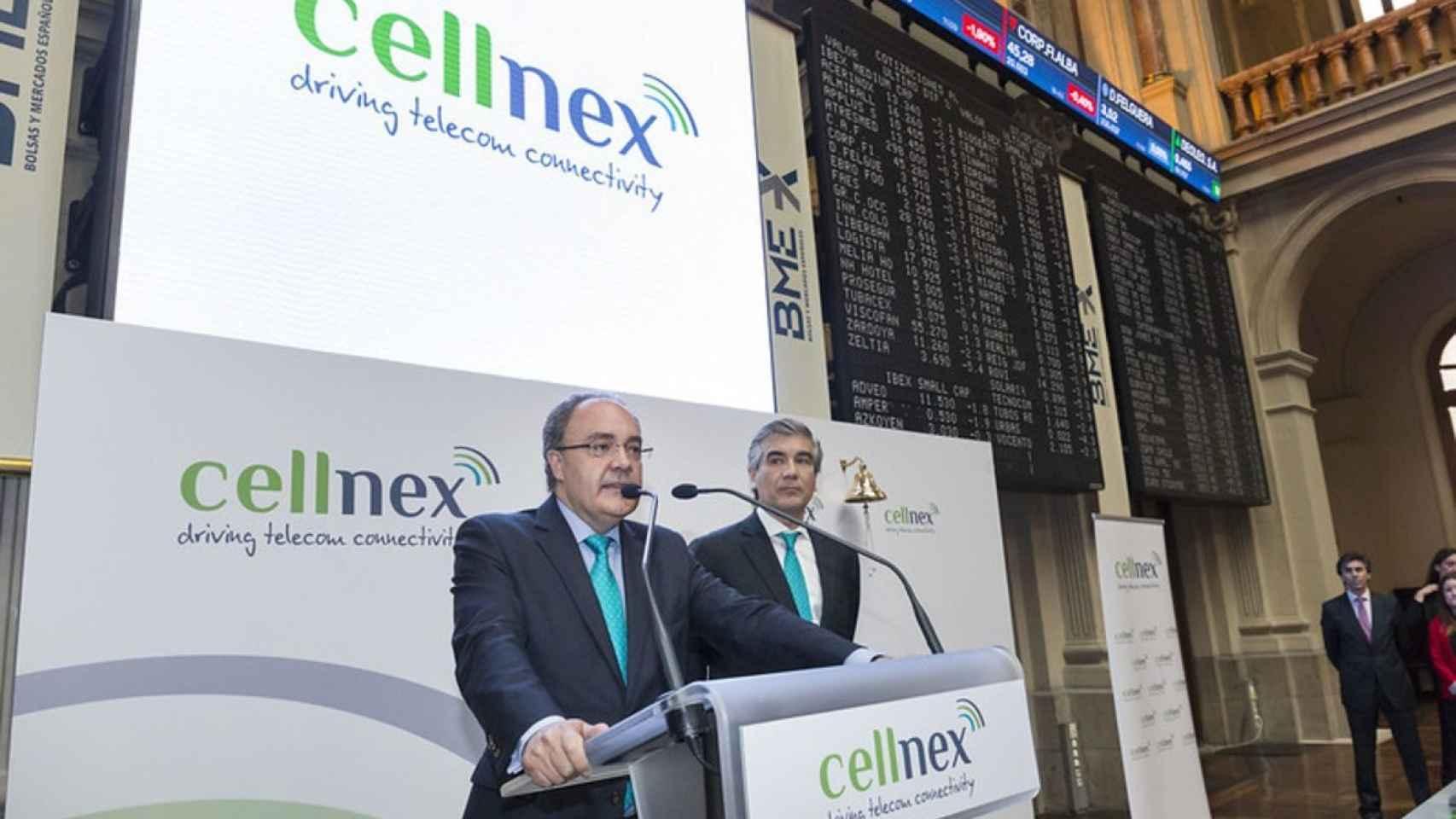 Tobías Martínez, primer ejecutivo de Cellnex, en una imagen de archivo.