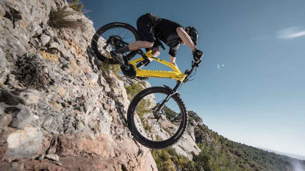 Mountain bike de Peugeot.
