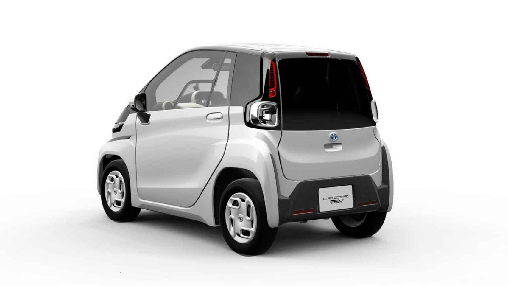 El Nuevo Electrico De Toyota Es Un Dos Plazas Ideal Para La Ciudad
