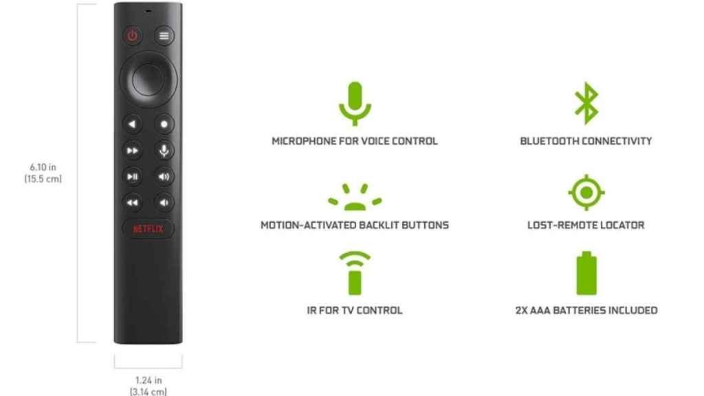 Captura de Amazon de la Nvidia Shield TV Pro