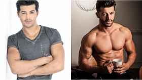 Jorge González, antes y después de su espectacular cambio físico.