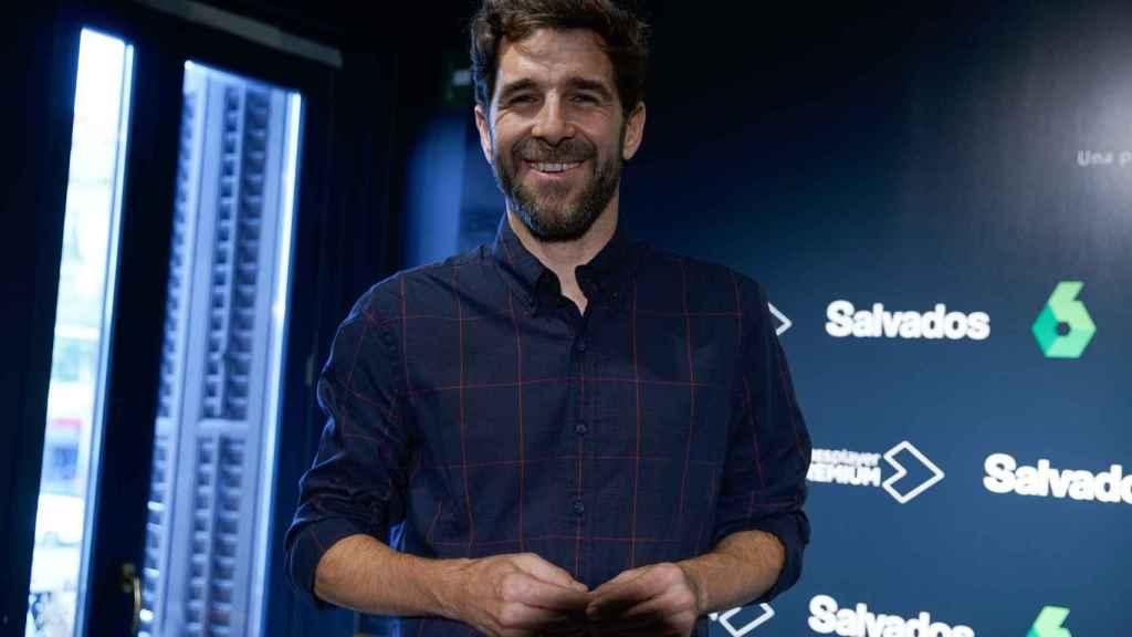 Gonzo durante la presentación de la nueva temporada de 'Sálvados'.