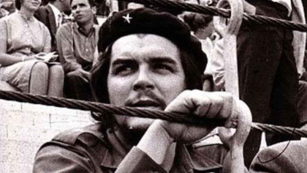 El Che Guevara en la plaza de toros de Las Ventas.