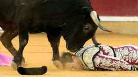 Mariano de la Viña fue cogido el pasado domingo en Zaragoza. Foto de Javier Cebollada para EFE