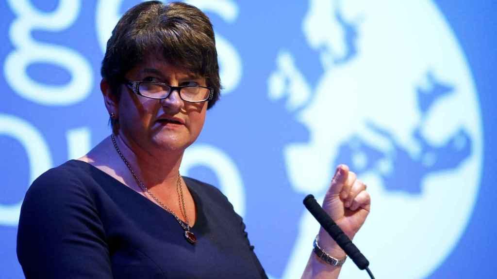 La líder del DUP, Arlene Foster.