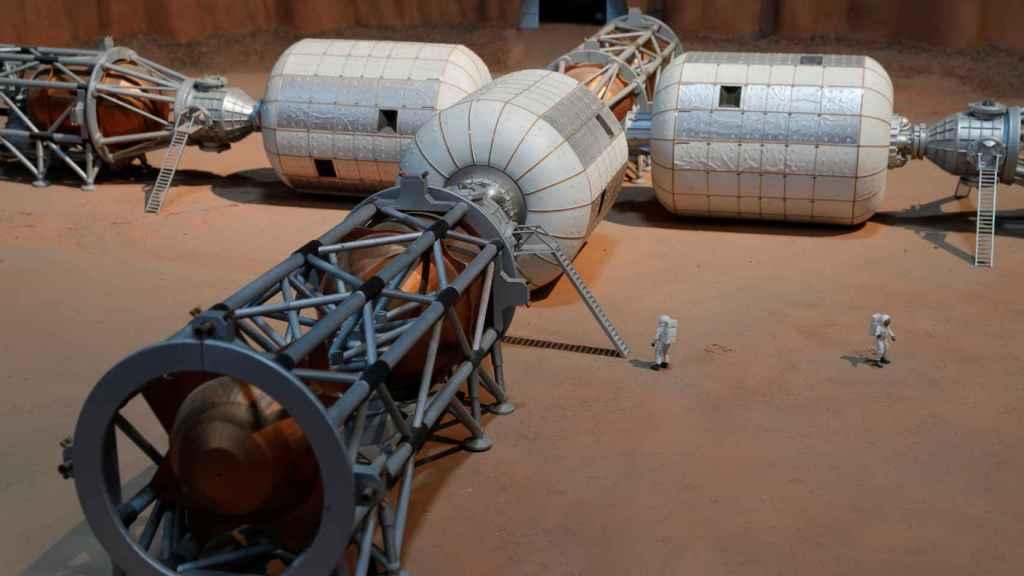 Modelo de base marciana Bigelow Aerospace B330