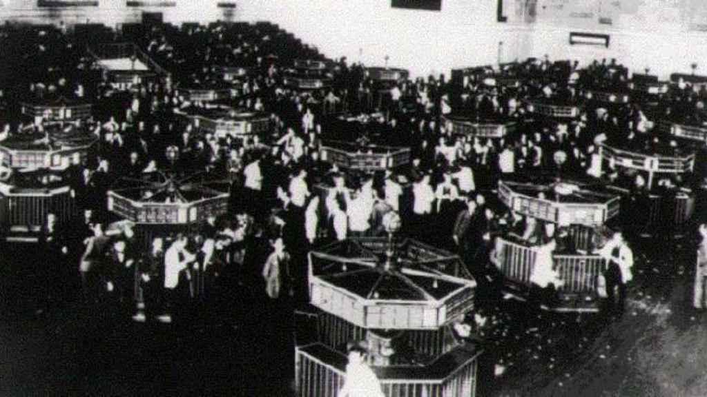 Corros de Wall Street en 1929.