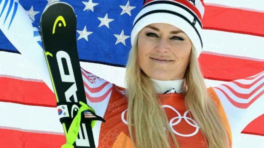 Lindsey Vonn, en los últimos Juegos Olímpicos de Invierno