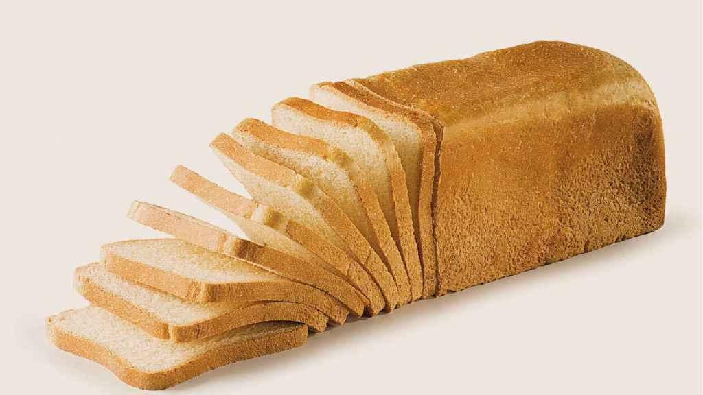 Rebanadas de pan de molde.