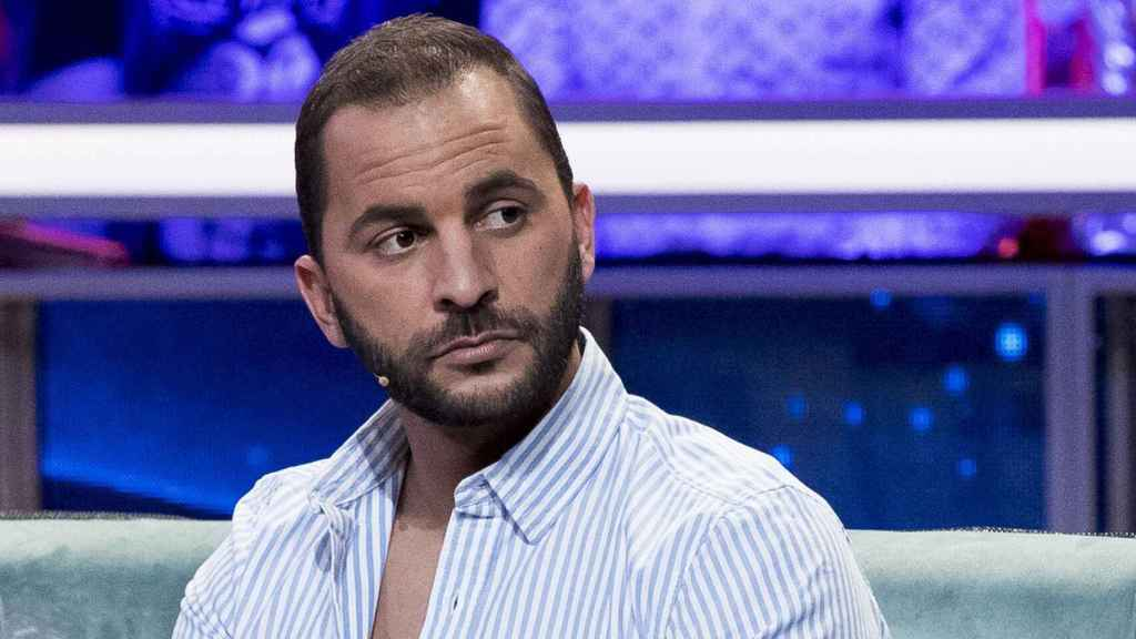 Antonio Tejado durante una intervención en un plató de Telecinco.