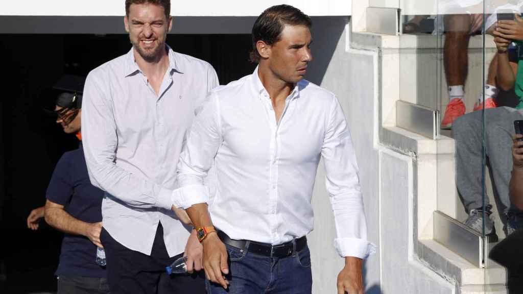 Rafa Nadal y Pau Gasol son los dos deportistas españoles más internacionales.