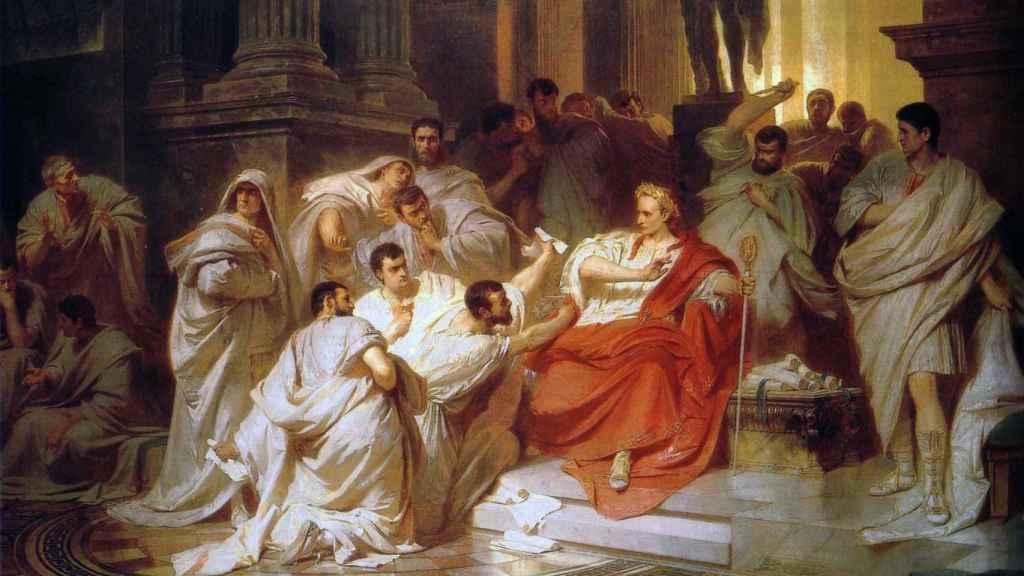 'Muerte de César', de Carl Theodor von Piloty.