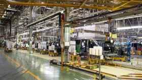 Imagen de archivo de una planta de coches.