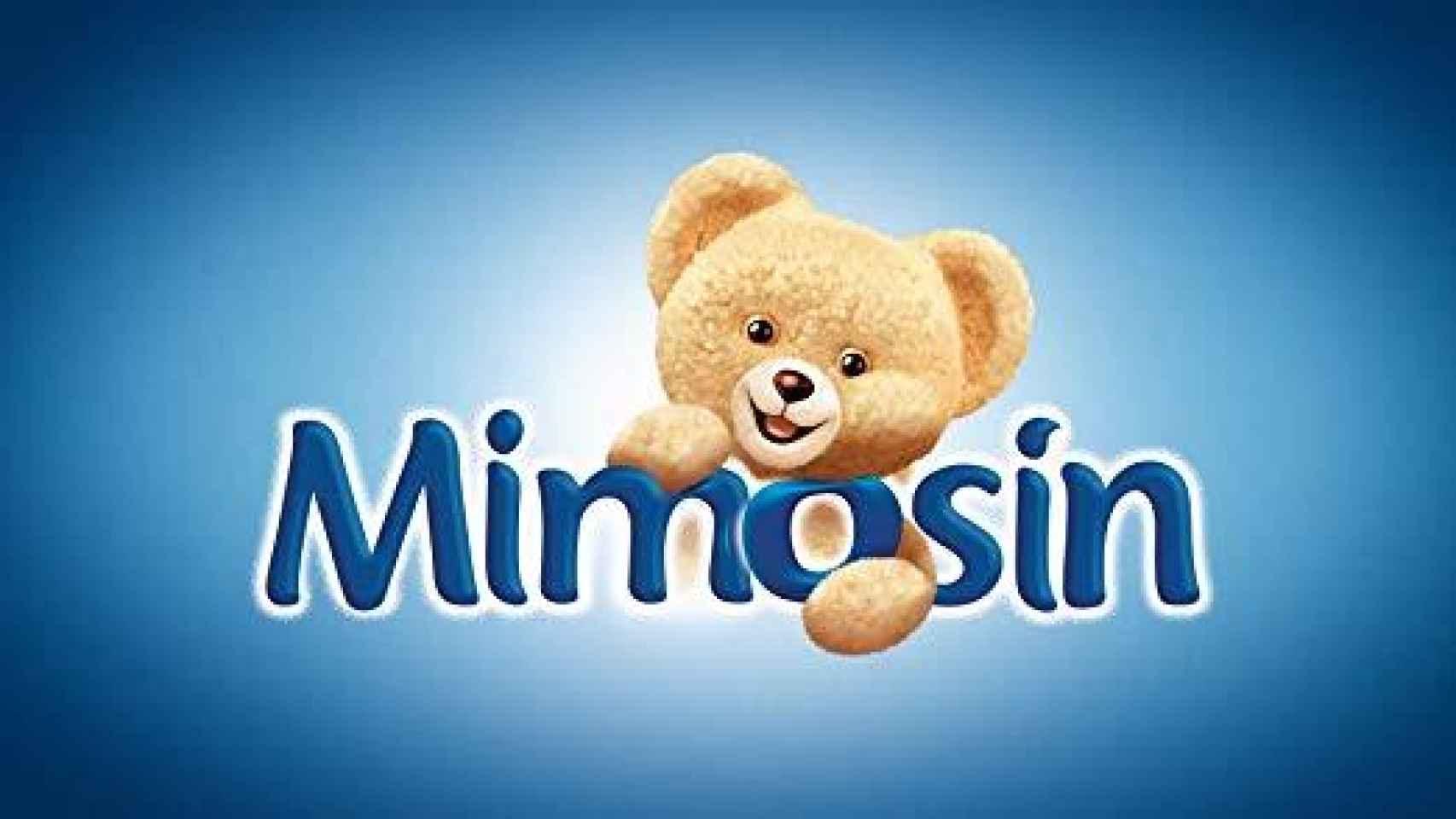 El logo del suavizante Mimosín.