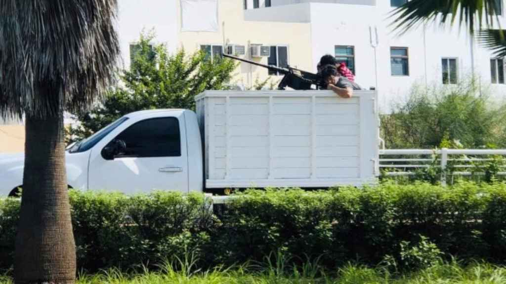 Hombres armados en Culiacán