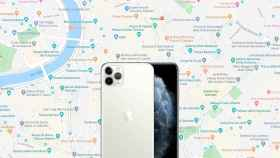 Google Maps en iPhone.