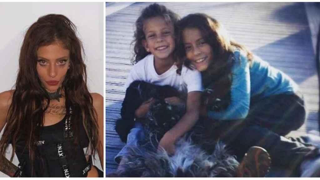 Valeria y Diana hicieron su último viaje juntas a Grecia en julio de 2016, junto a su madre.