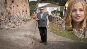 Leonor, nacida en 1932, conocerá este sábado a la princesa tocaya.